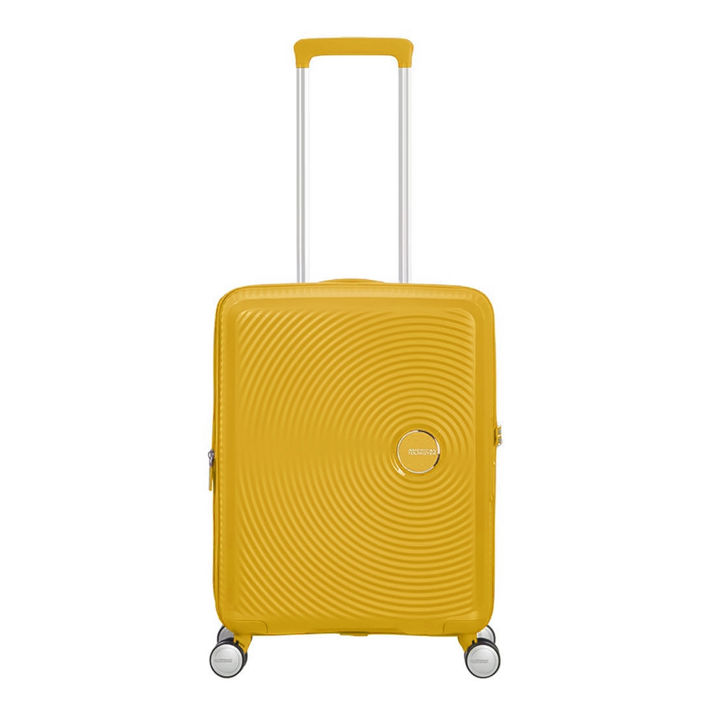 American Tourister Soundbox Spinner 55 Expandable golden yellow - 1