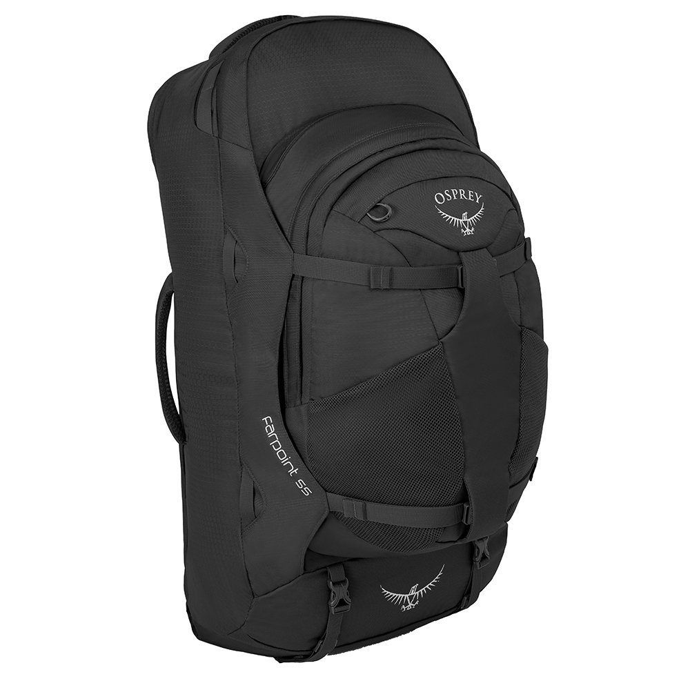 Osprey Farpoint 55 M/L Travel Backpack volcanic grey backpack <br/></noscript><img class=