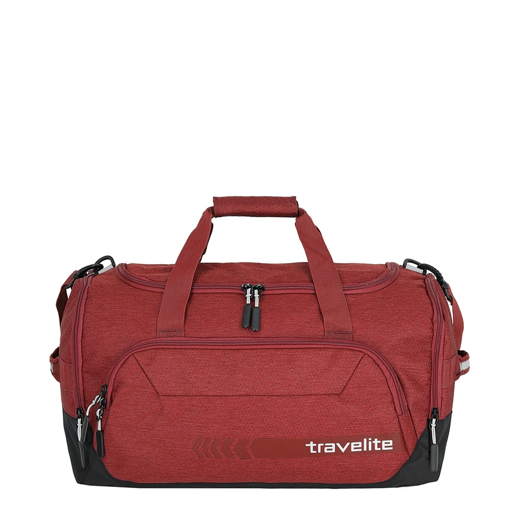 Travelite Kick Off Duffle M red Weekendtas <br/>€ 26.00 <br/> <a href='https://tc.tradetracker.net/?c=15082&m=779702&a=107398&u=http%3A%2F%2Fwww.travelbags.nl%3A80%2Ftravelite-kick-off-duffle-m-red.html' target='_blank'>Bestellen</a>