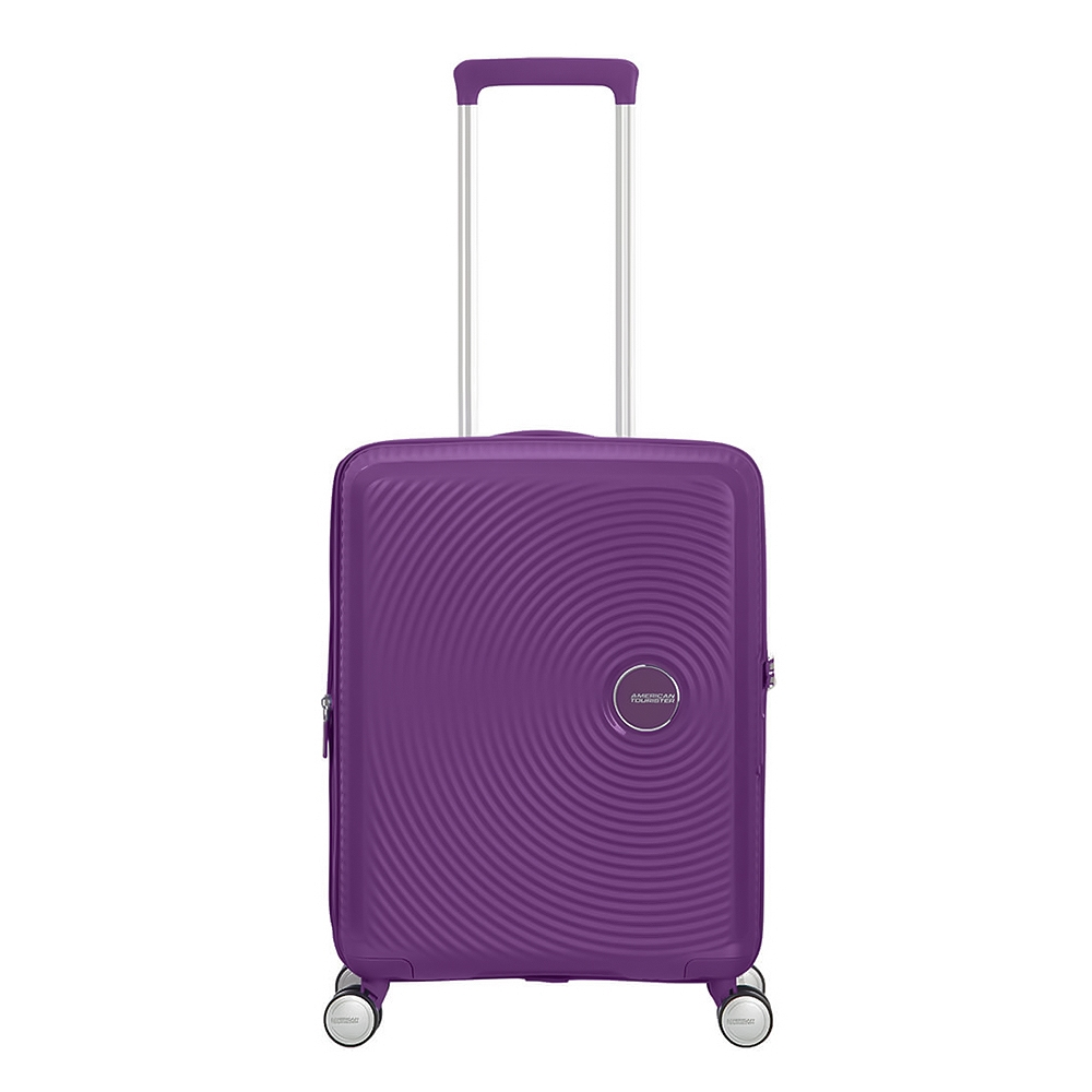 American Tourister Soundbox Spinner 55 Expandable purple orchid Harde Koffer