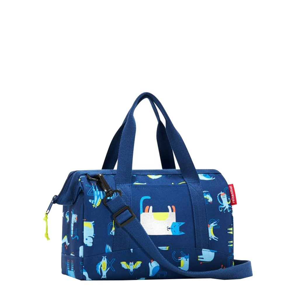 Reisenthel Kids Allrounder XS ABC Friends blue Weekendtas <br/>€ 22.95 <br/> <a href='https://tc.tradetracker.net/?c=15082&m=779702&a=107398&u=http%3A%2F%2Fwww.travelbags.nl%3A80%2Freisenthel-kids-allrounder-xs-abc-friends-blue.html' target='_blank'>Bestellen</a>