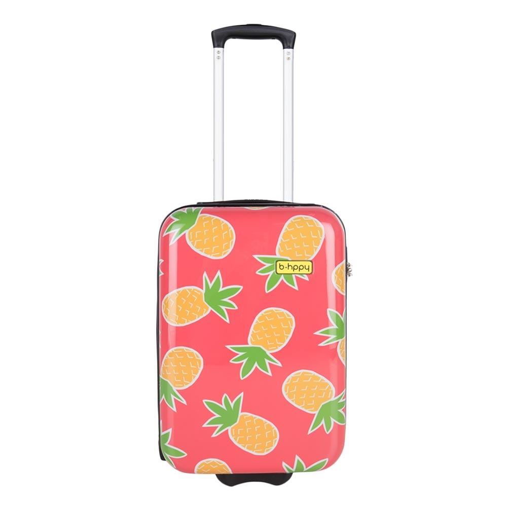 Bhppy Pretty Pineapple Trolley 55 roze - 1
