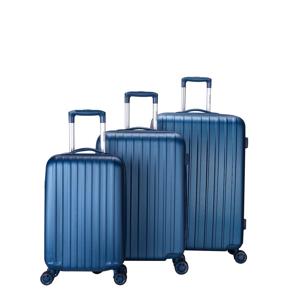 Decent Tranporto One 3-delige Kofferset donkerblauw - 1