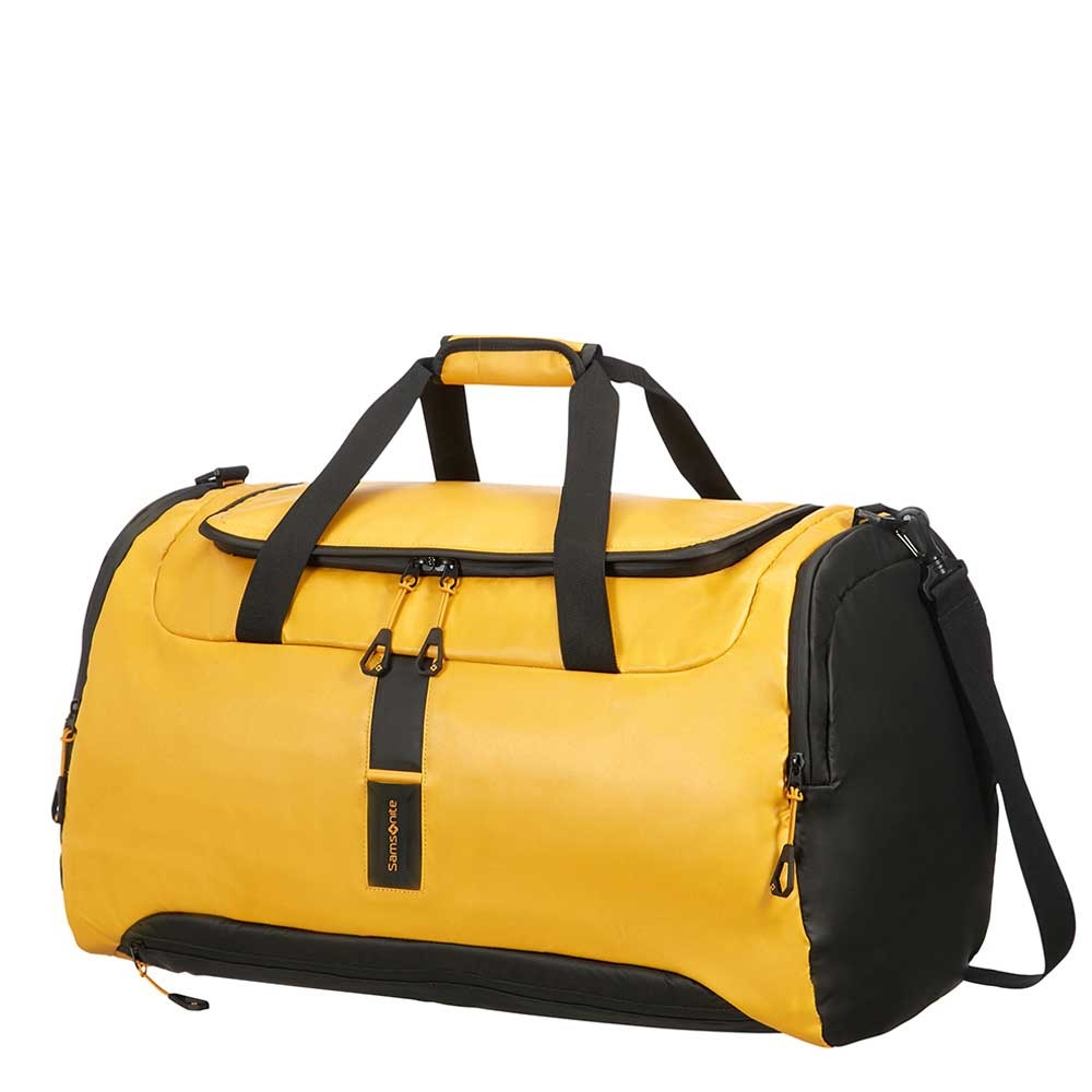 Samsonite Paradiver Light Duffle 61 yellow Weekendtas <br/>€ 79.00 <br/> <a href='https://tc.tradetracker.net/?c=15082&m=779702&a=107398&u=http%3A%2F%2Fwww.travelbags.nl%3A80%2Fsamsonite-paradiver-light-duffle-61-yellow.html' target='_blank'>Bestellen</a>