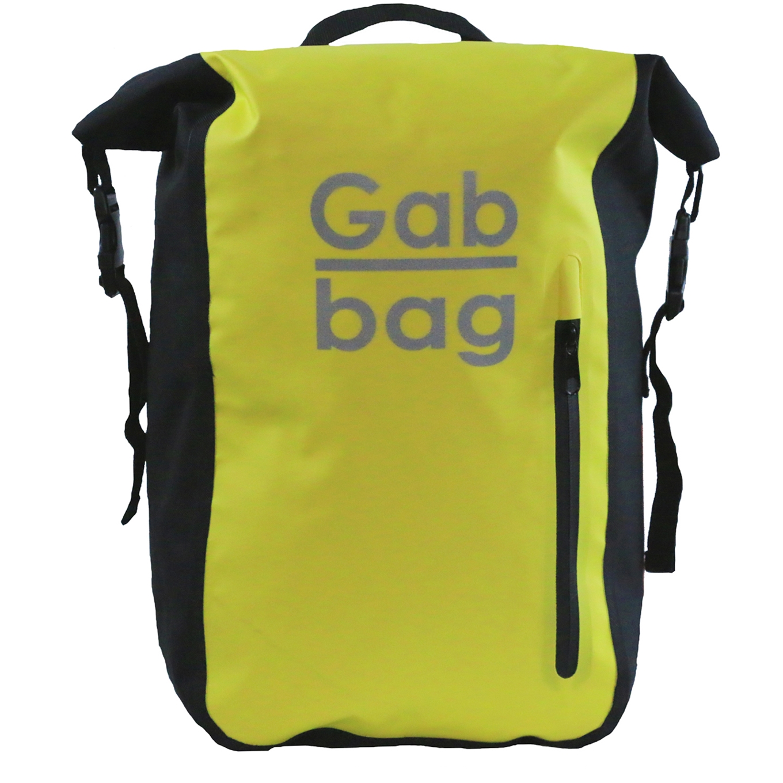 Gabbag Reflective Bag 25L geel