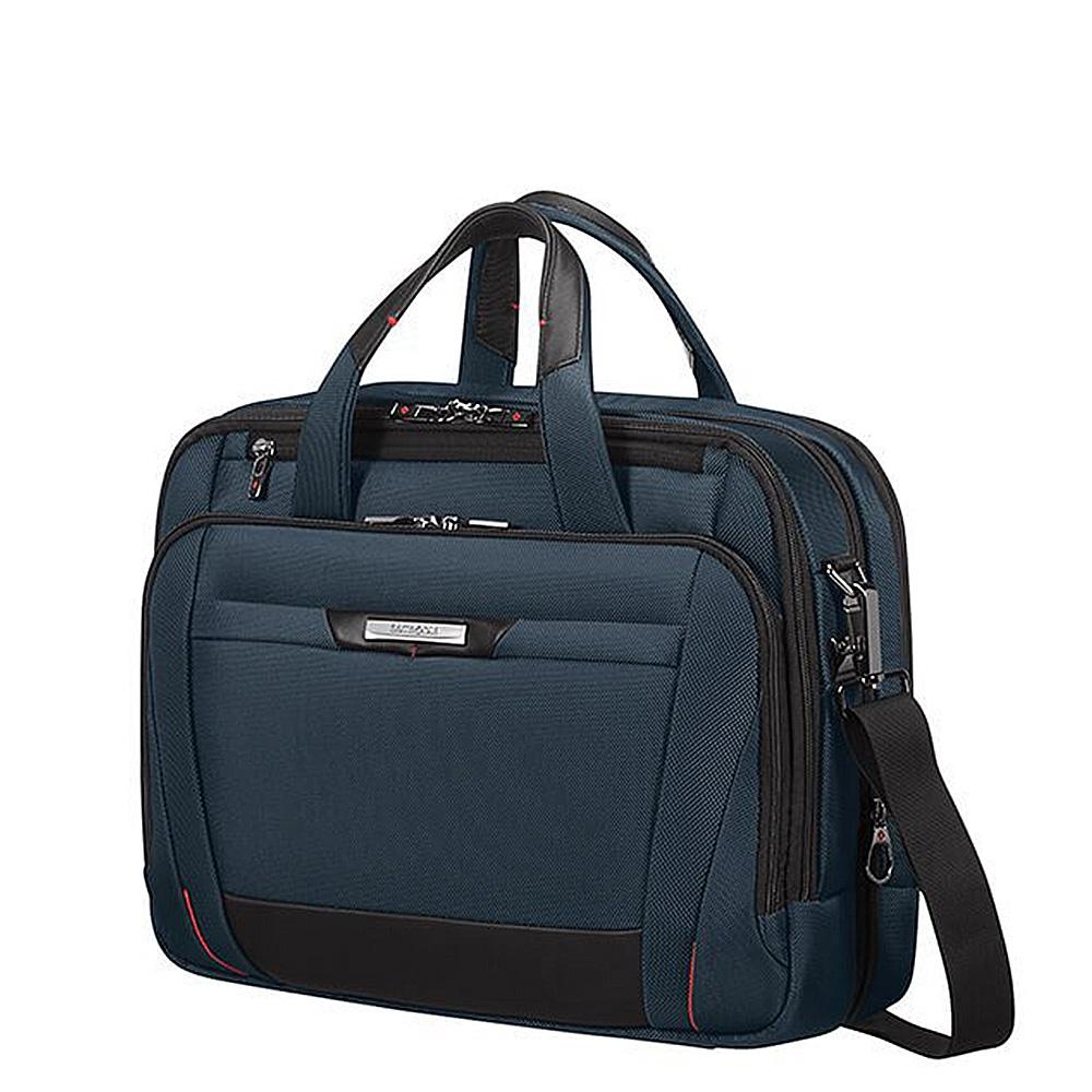 Samsonite Pro-DLX 5 Laptop Bailhandle 15.6'' Expandable oxford blue
