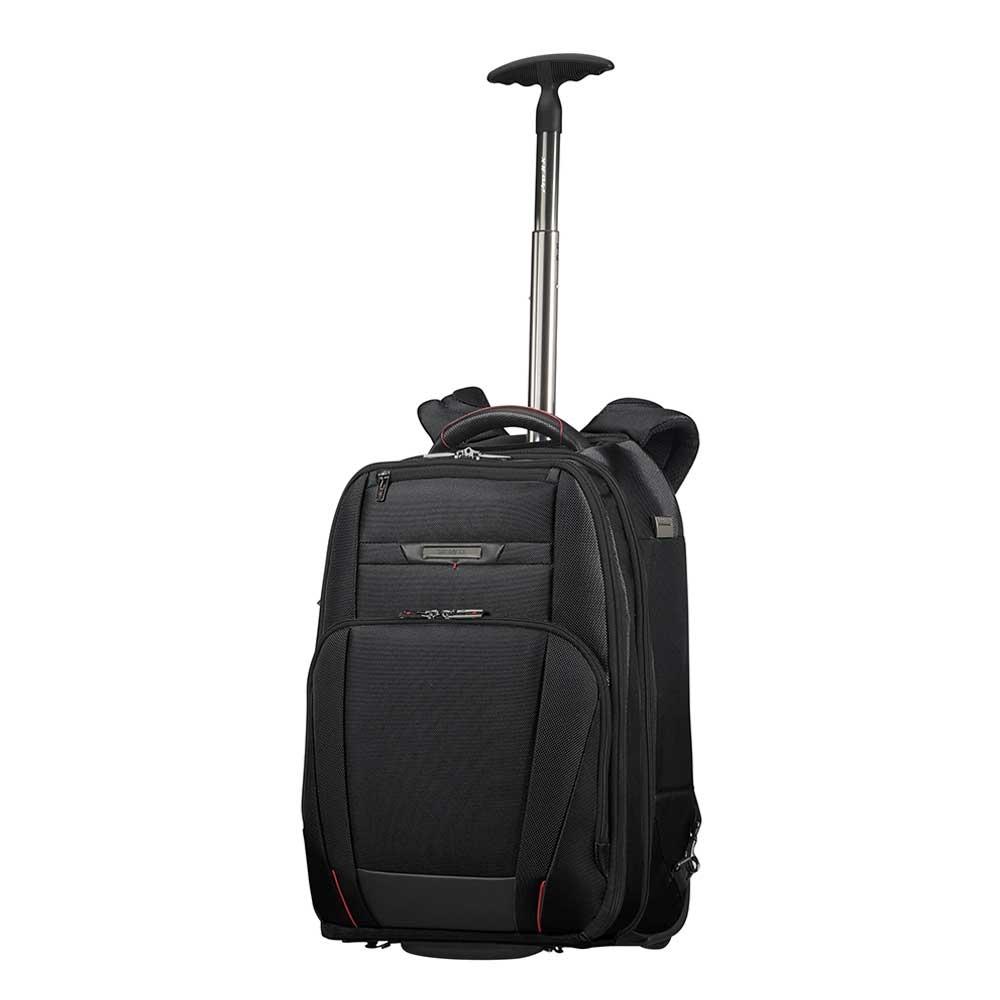 Samsonite Pro-DLX 5 Laptop Backpack Wheels 17.3'' black backpack