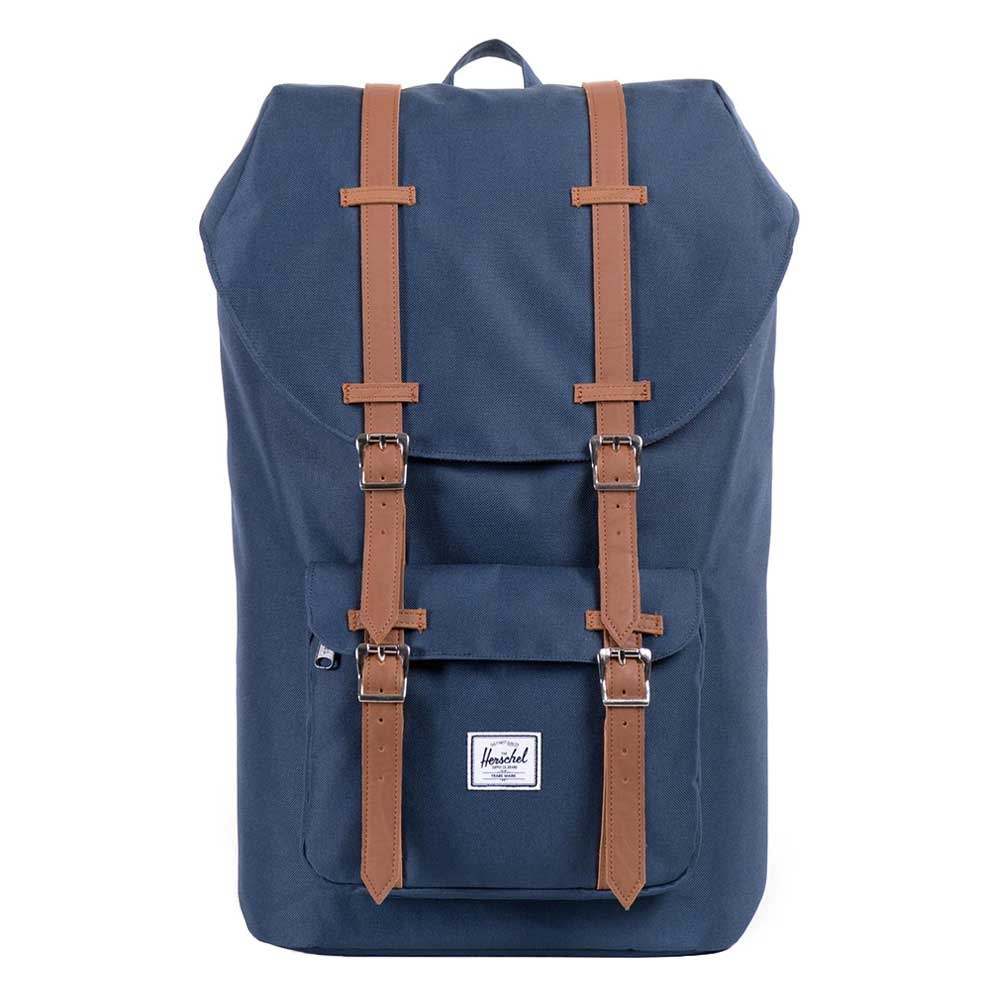 Herschel Little America Navy-Tan PU
