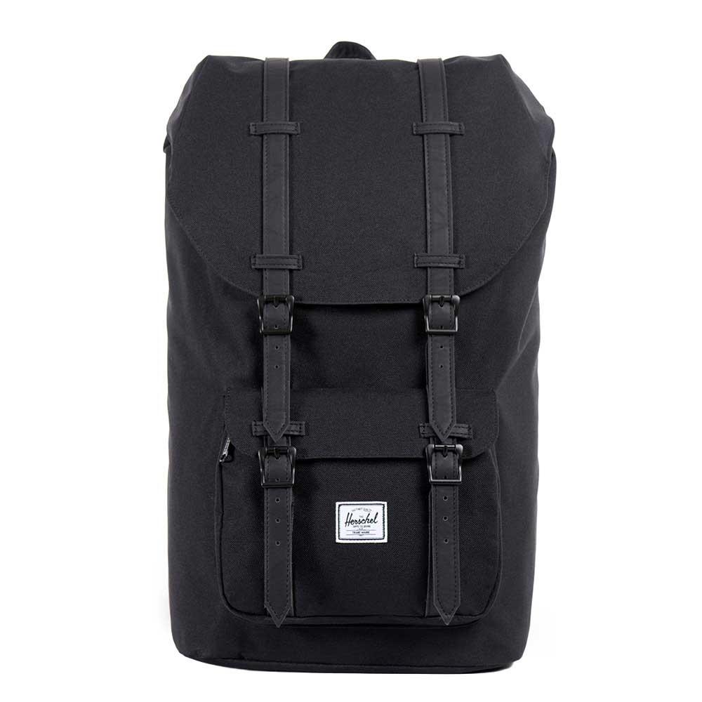 Herschel Supply Co. Little America Rugzak black/black Laptoprugzak