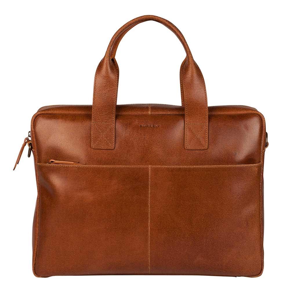 "Burkely Vintage Laptop Bag 15.6"" cognac - 1"