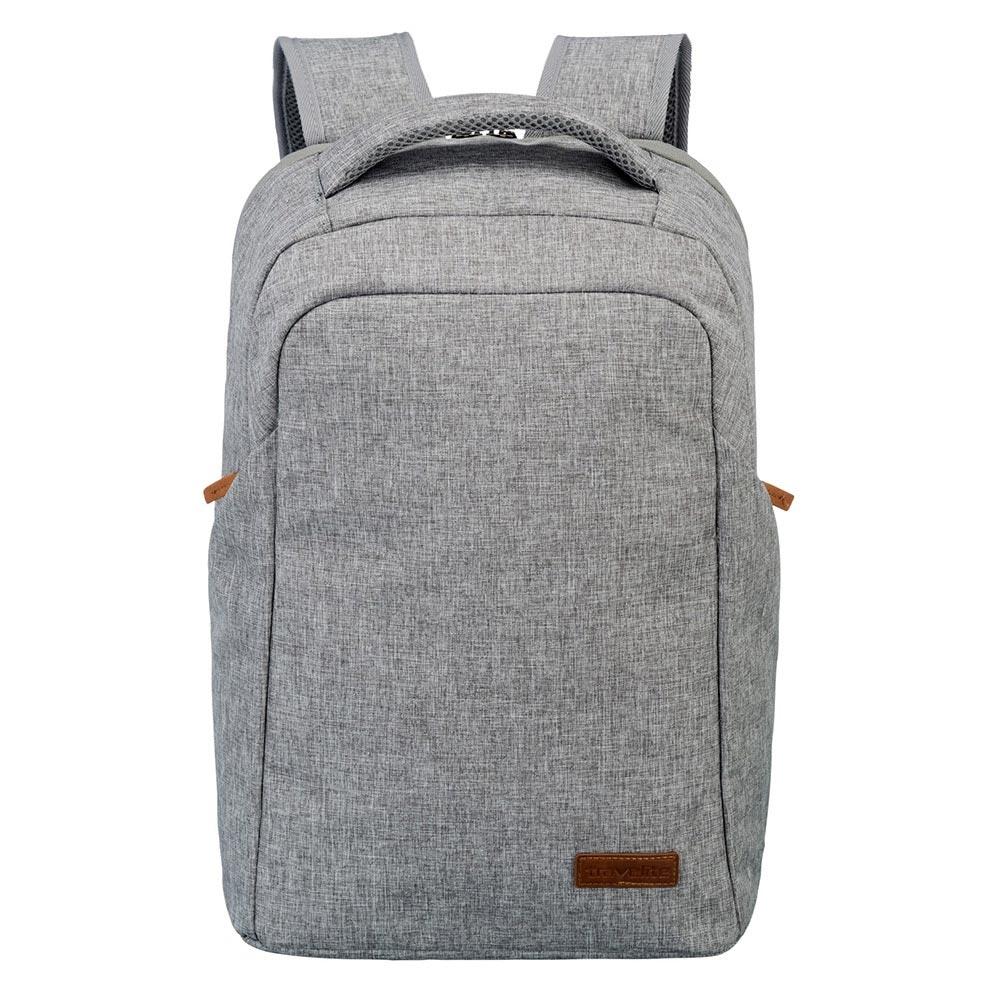 Travelite Basics Safety Backpack light grey backpack