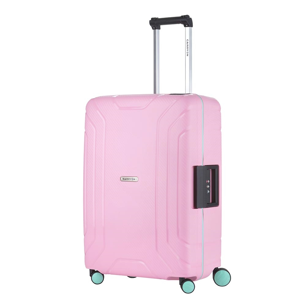 CarryOn Steward Trolley 65 light pink Harde Koffer