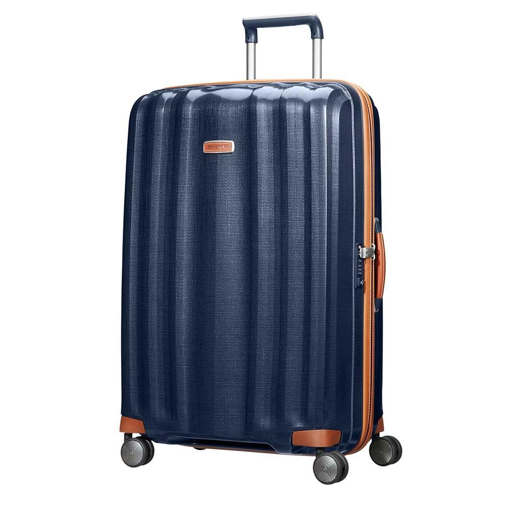 Samsonite Lite-Cube DLX Spinner 82 midnight blue Harde Koffer <br/></noscript><img class=