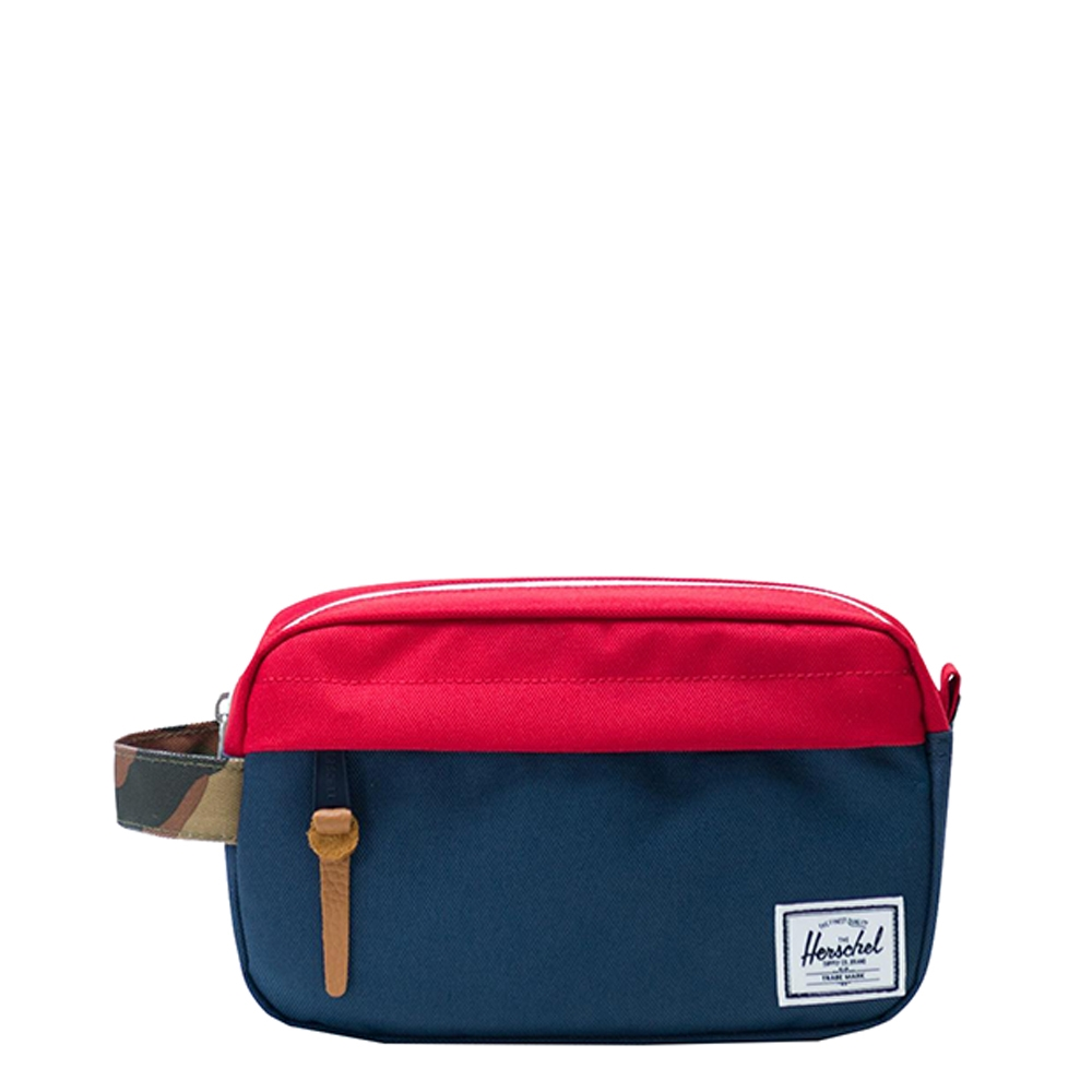 Herschel Chapter Carry On Navy-Red-Woodland Camo