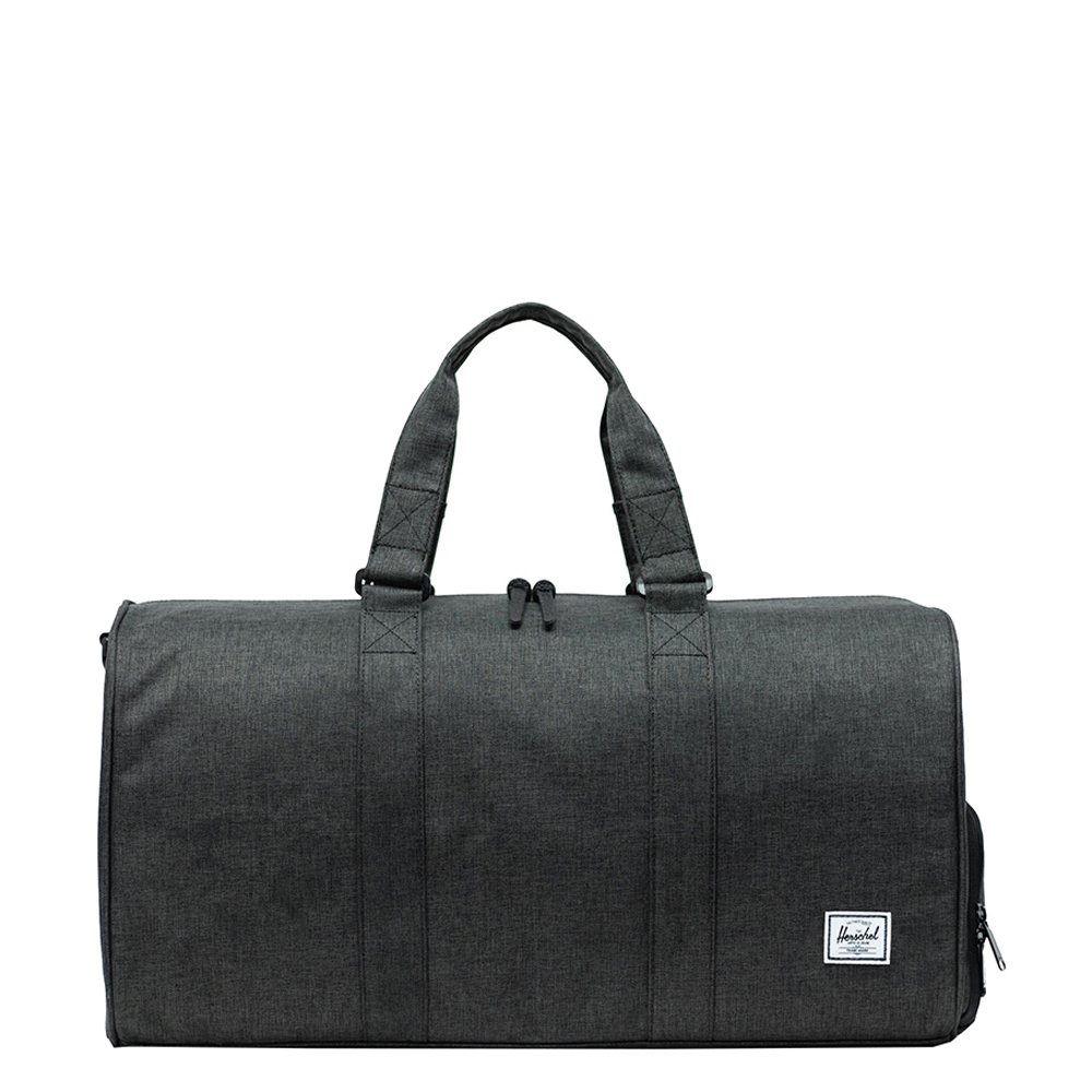 Herschel Supply Co. Novel Mid-Volume Rugzak black crosshatch Weekendtas