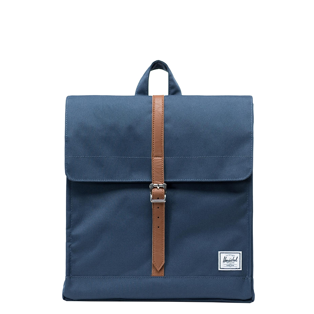 Herschel Supply Co. City Mid-Volume Rugzak navy-tan synthetic leather