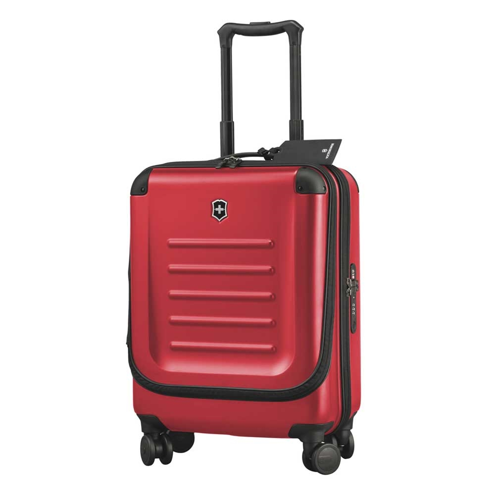 Victorinox Spectra 2.0 Dual-Access Global Carry-On 55 red Harde Koffer <br/></noscript><img class=