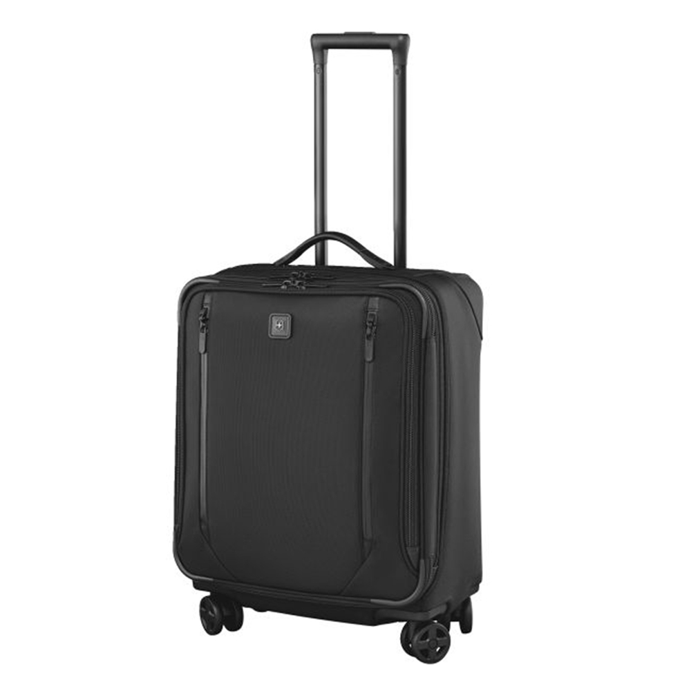 Victorinox Lexicon 2.0 Dual-Caster Wide-Body Carry-On black Zachte koffer <br/></noscript><img class=