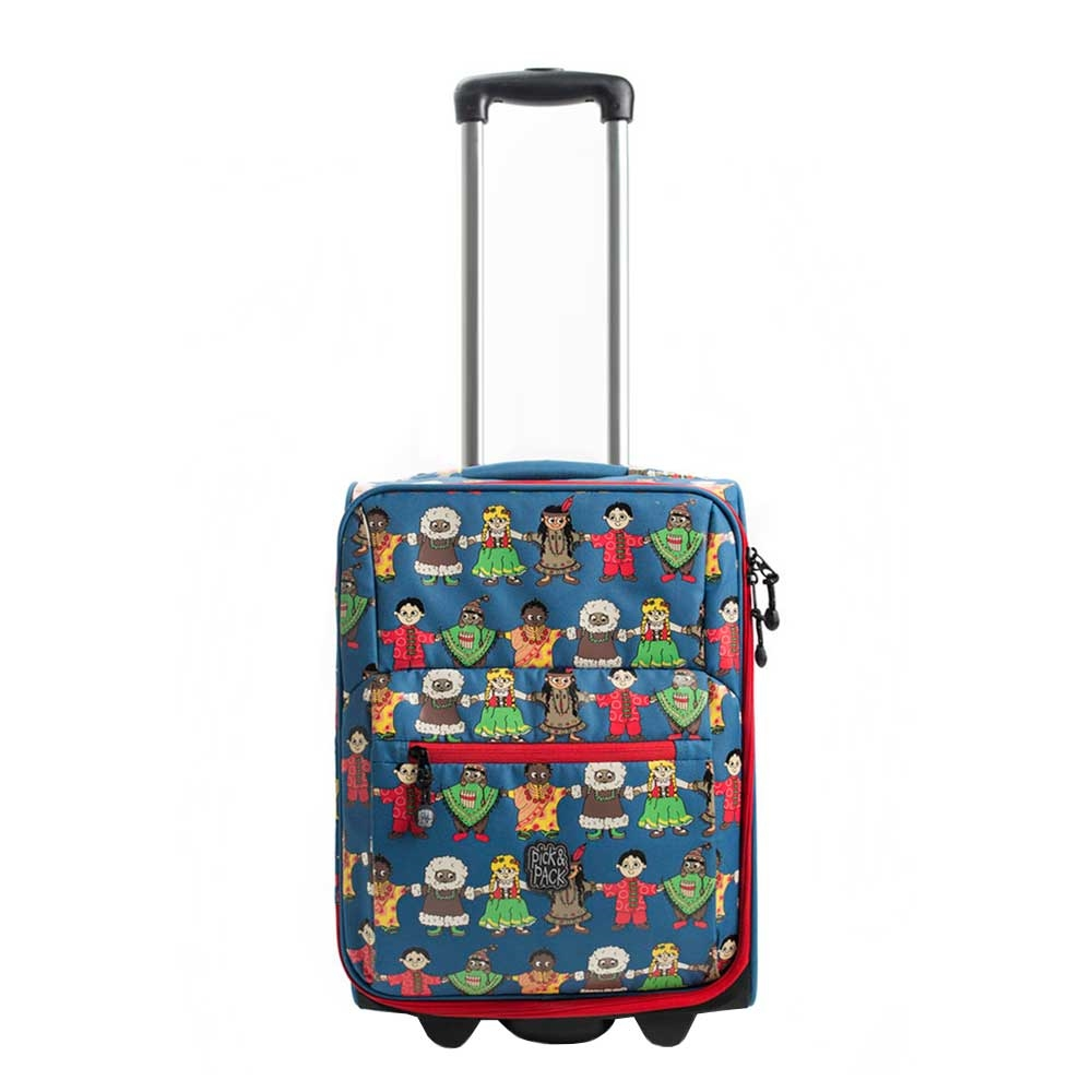 Pick & Pack Cute Peace Kindertrolley blue multi Kinderkoffer <br/></noscript><img class=
