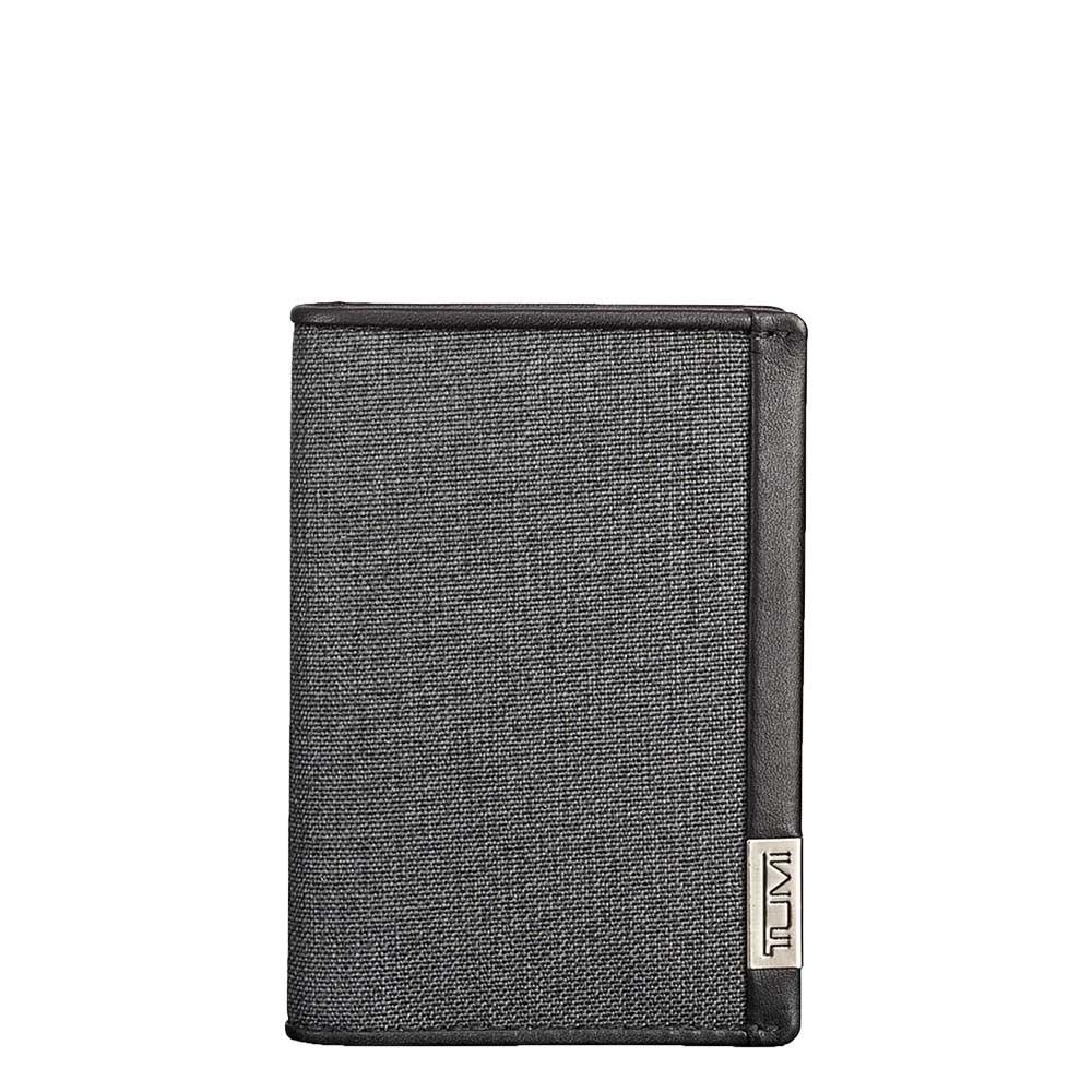 Tumi Alpha Multi Window Card Case anthracite / black Heren portemonnee <br/></noscript><img class=