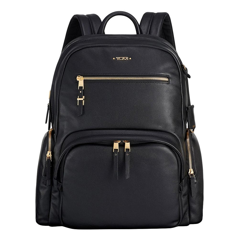 Tumi Voyageur Leather Carson Backpack black Damestas <br/></noscript><img class=