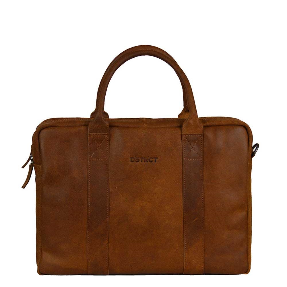 DSTRCT Main Street Workingbag 15.6'' cognac - 1