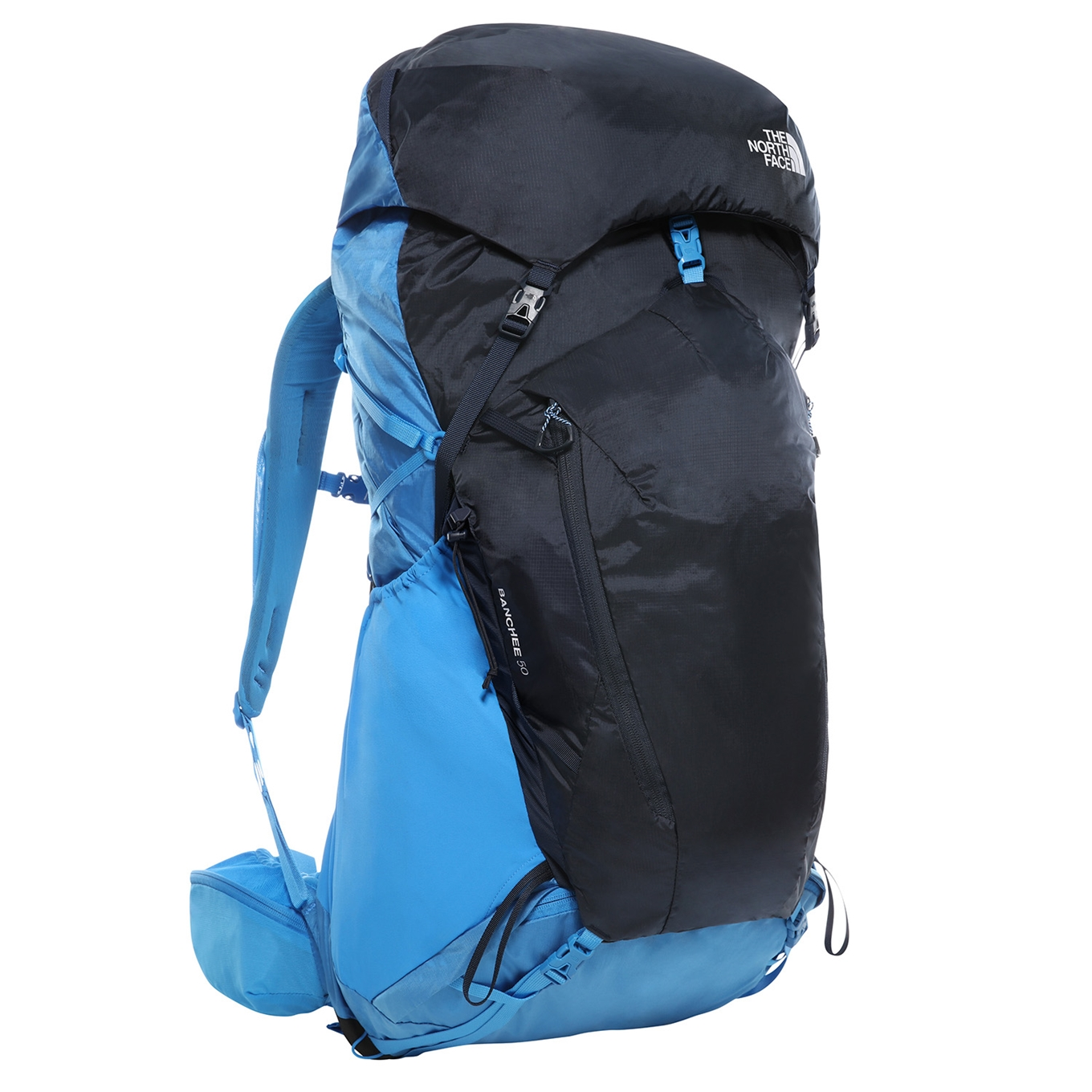 The North Face Banchee 50 Backpack L XL clear lake blue / urban navy backpack <br/></noscript><img class=
