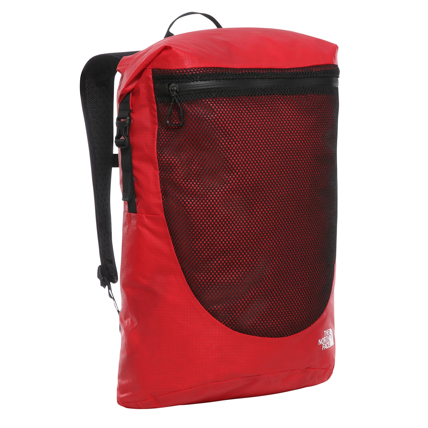 The North Face Rolltop Waterproof Backpack tnf red backpack