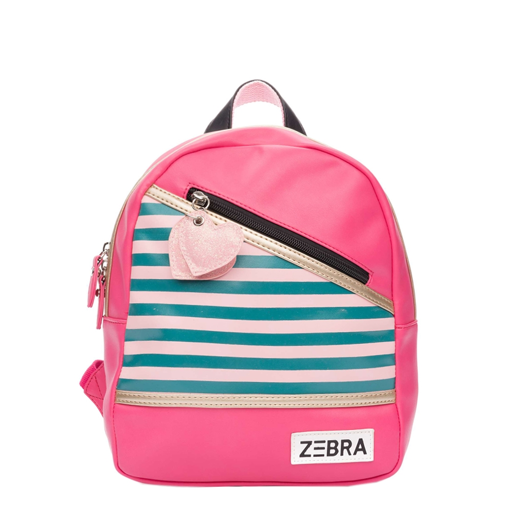 Zebra Trends Girls Rugzak S Holidays pink Kindertas