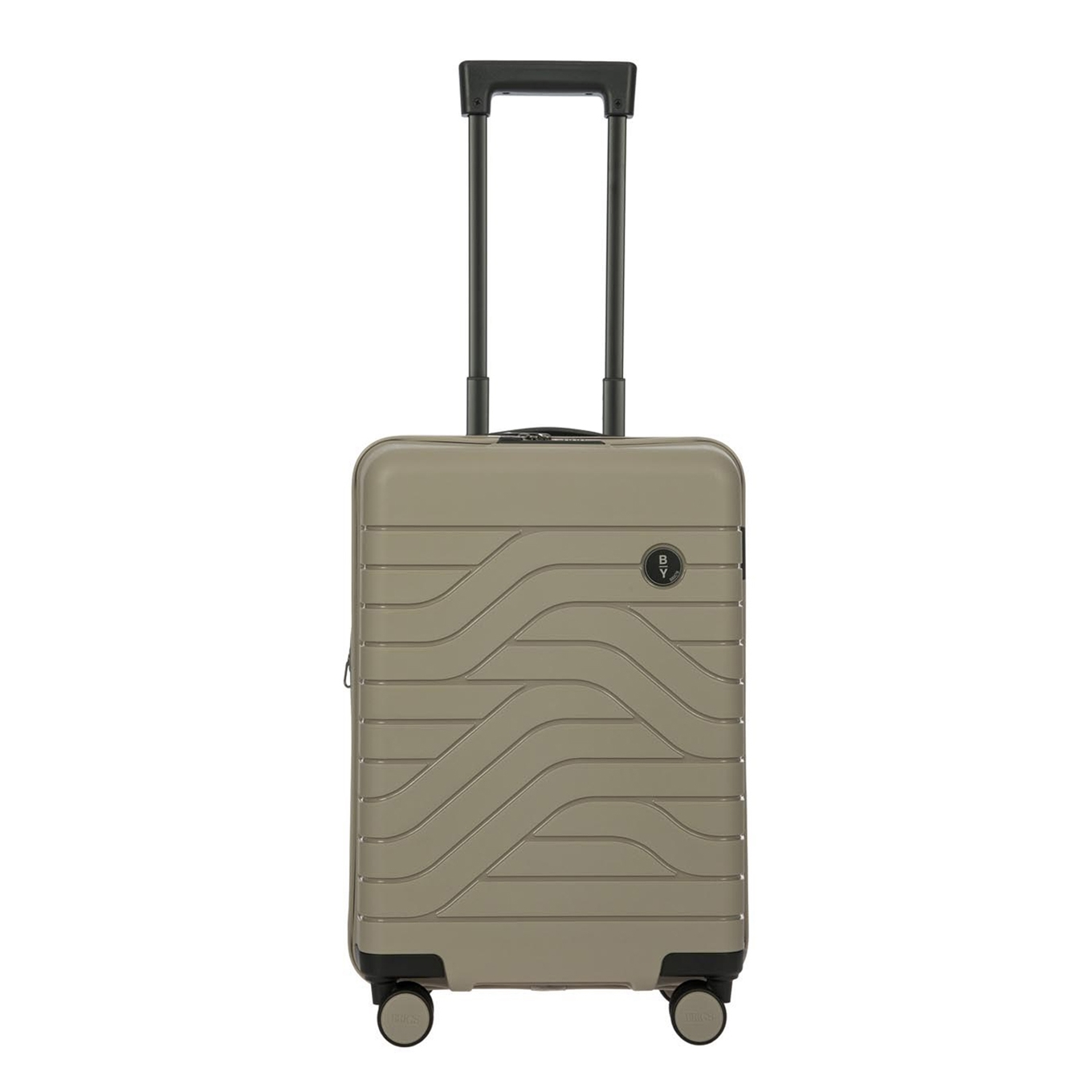 Bric&apos;s Ulisse Trolley Expandable 55 USB dove grey Harde Koffer <br/></noscript><img class=