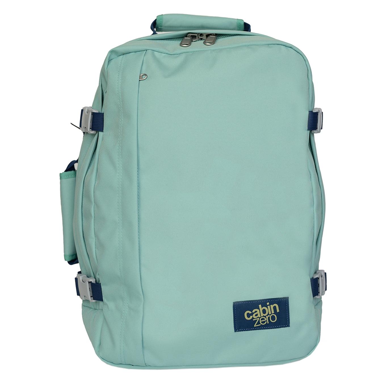 CabinZero Classic 44L Cabin Backpack green lagoon Weekendtas <br/></noscript><img class=