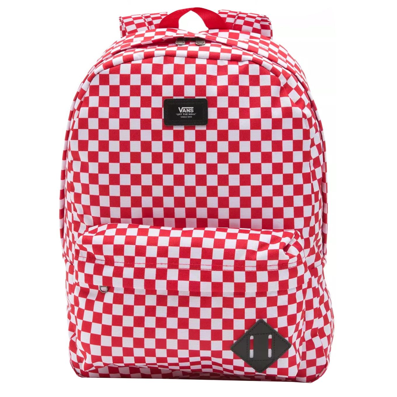 Vans Old Skool III Backpack red check
