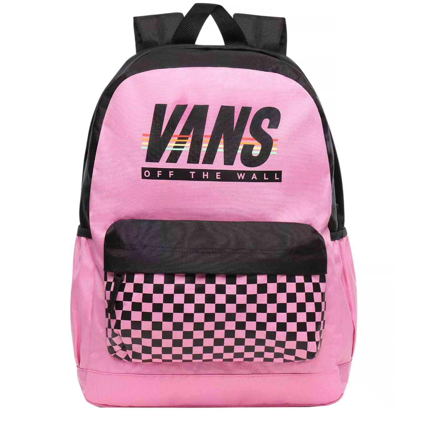 Vans Sporty Realm Plus Backpack fuchsia pink/sport stripe backpack