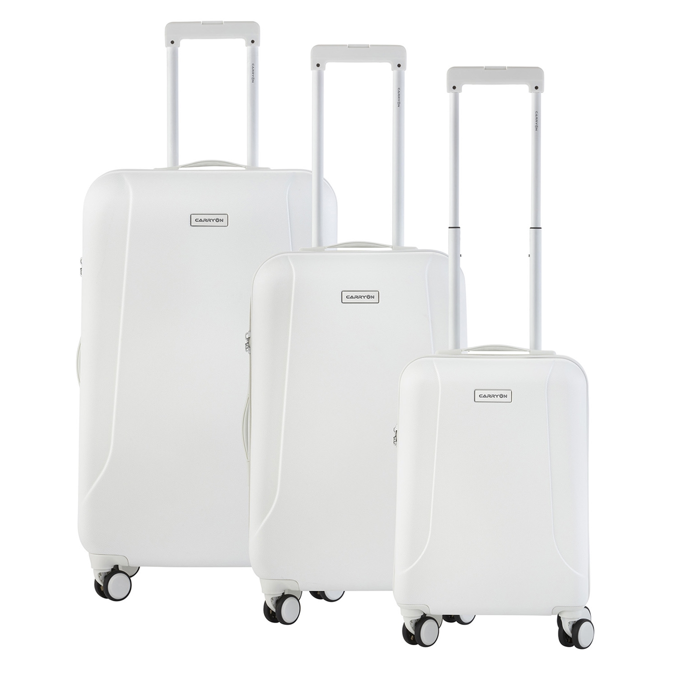 CarryOn Skyhopper Trolleyset 3pcs TSA white <br/></noscript><img class=