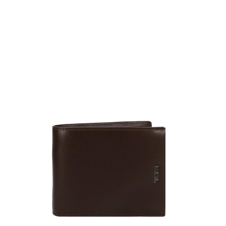 Tumi Nassau SLG Global Wallet W/ Coin Pocket brown smooth Heren portemonnee <br/></noscript><img class=