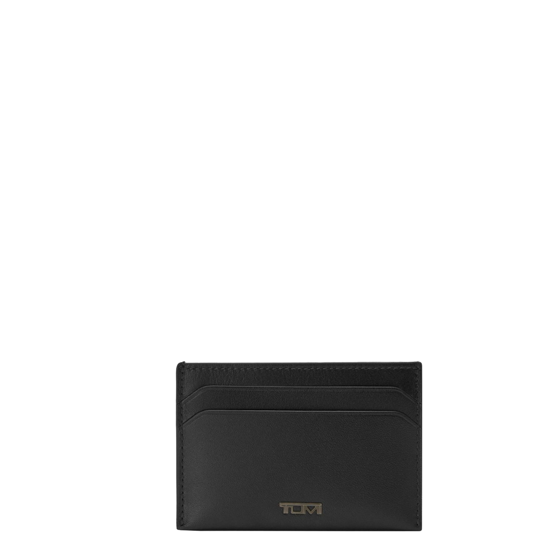 Tumi Nassau SLG Slim Card Case black smooth Heren portemonnee