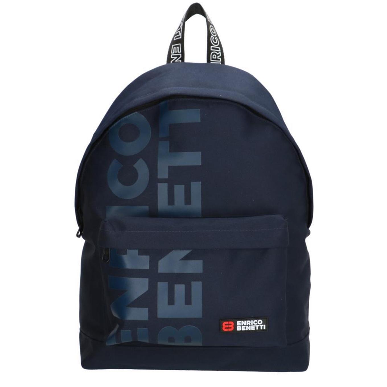 Enrico Benetti Amsterdam City Rugtas 14'' blauw backpack