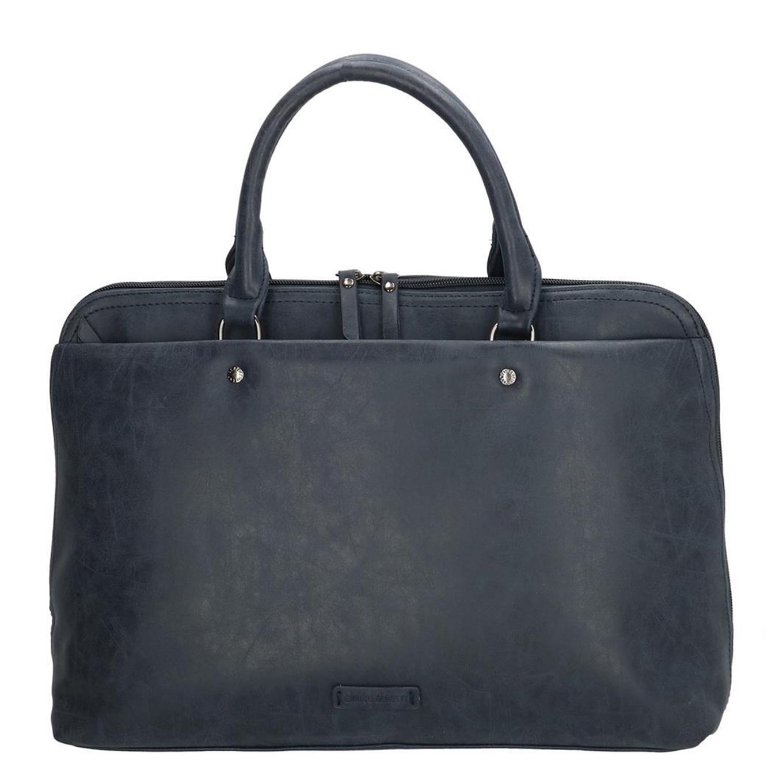Enrico Benetti Metz Laptoptas / Business Tas 15'' blauw