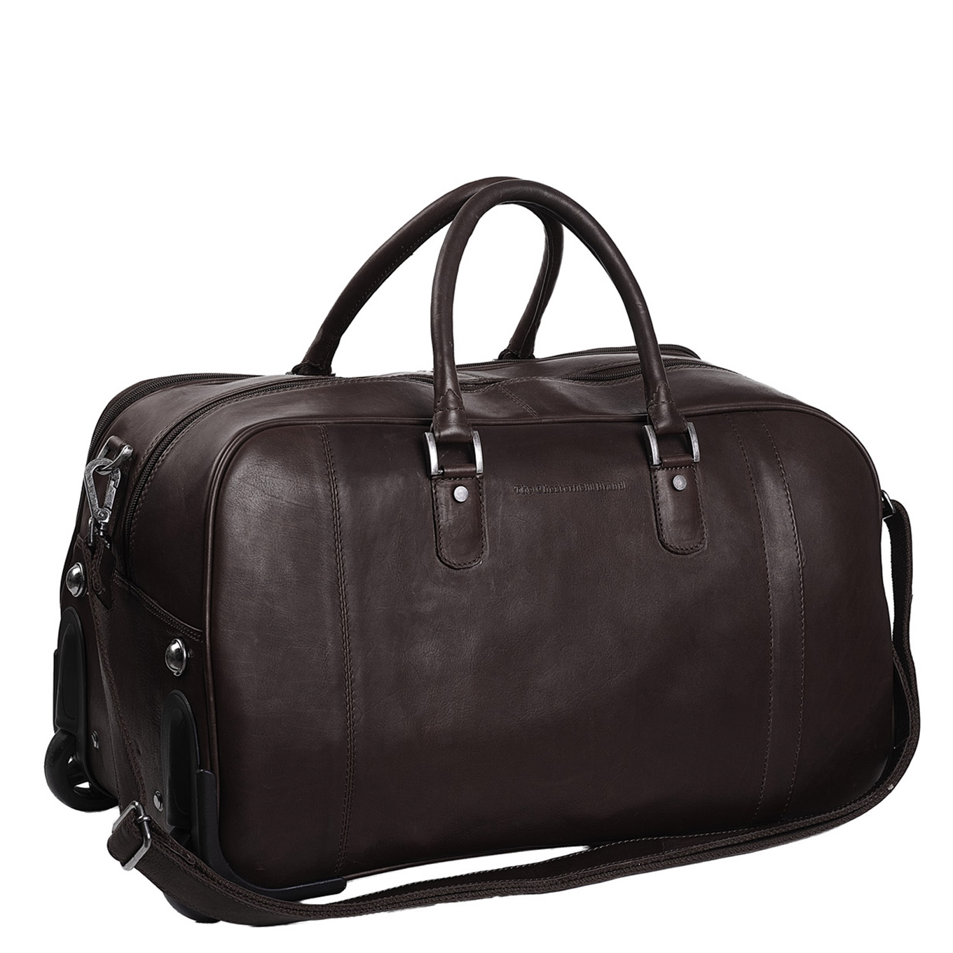 The Chesterfield Brand Jayven Trolley Travelbag brown Handbagage koffer Trolley