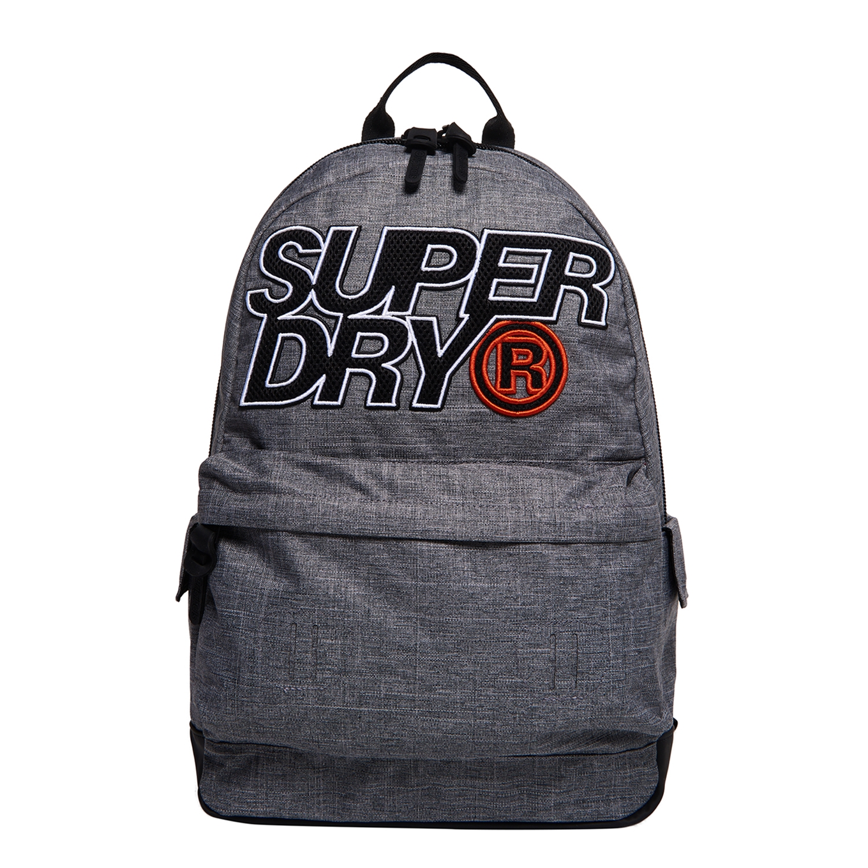 Superdry Lineman Montana Backpack light grey